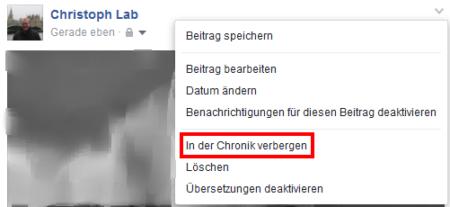 Profilbild und Titelbild bei öffentlichen Facebook-Seiten