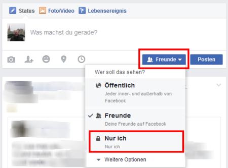 Facebook Profilbild ändern ohne posten