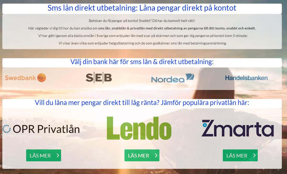 sms lån direkt image